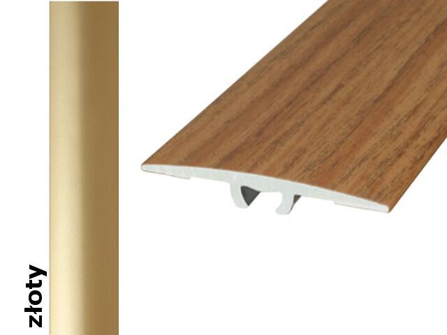 Listwa dylatacyjna Effect Standard A68 złoto 180cm Effector