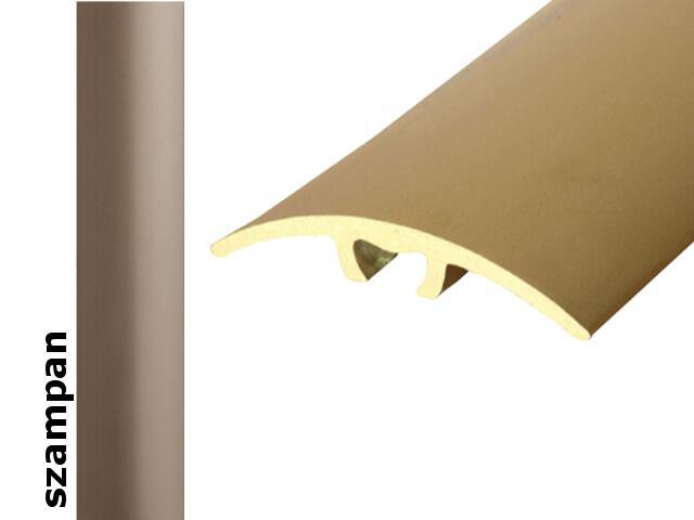 Listwa dylatacyjna Effect Standard A66 z uszczelką silikonową szampan 93cm Effector