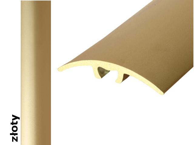 Listwa dylatacyjna Effect Standard A66 z uszczelką silikonową złoto 270cm Effector