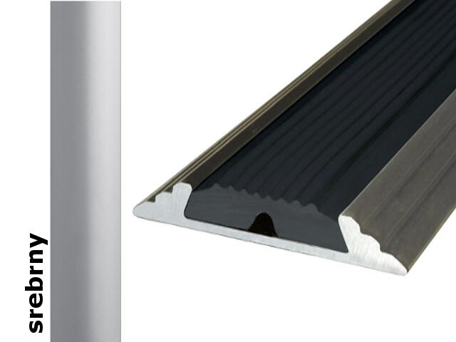 Listwa dylatacyjna Effect Standard A10 z wkładką antypoślizgową srebro 360cm Effector