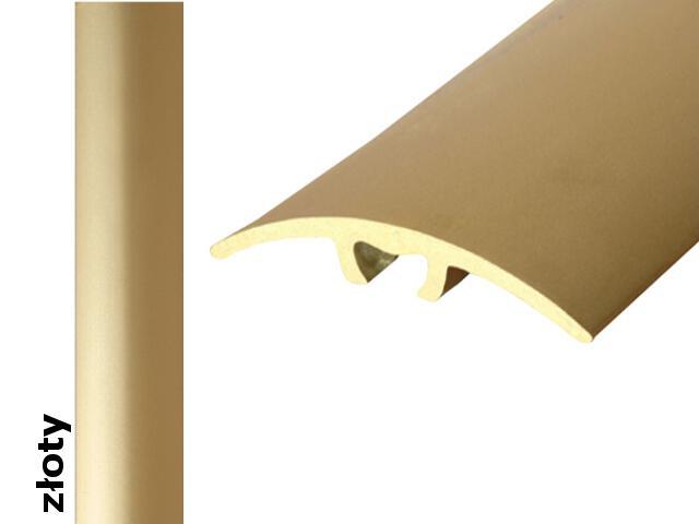 Listwa dylatacyjna Effect Standard A66 z uszczelką silikonową złoto 360cm Effector