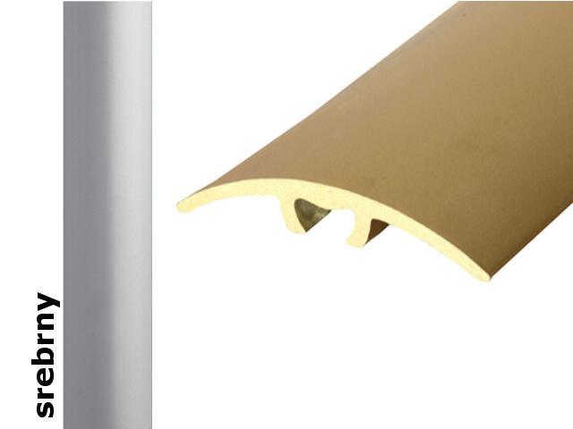 Listwa dylatacyjna Effect Standard A66 z uszczelką silikonową srebro 360cm Effector