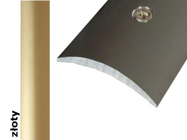 Listwa dylatacyjna Effect Standard A13 złoto 270cm Effector