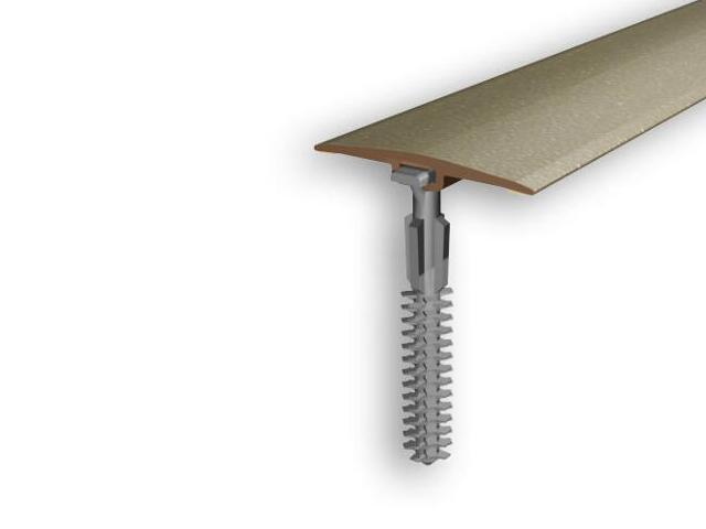 Listwa dylatacyjna 36mm PVC złoto 03 dł. 2m D-P0100-03-200 Myck