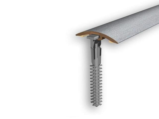 Listwa dylatacyjna 30mm PVC srebro 01 dł. 2m D-P0300-01-200 Myck
