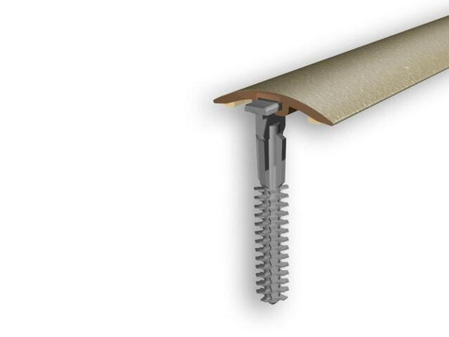 Listwa dylatacyjna 30mm PVC złoto 03 dł. 1m D-P0300-03-100 Myck