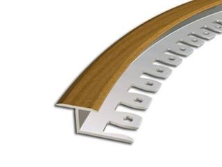 Listwa dylatacyjna 16x10 ALU buk 14 dł. 2,5m 2-27388-14-250 Zic Zac
