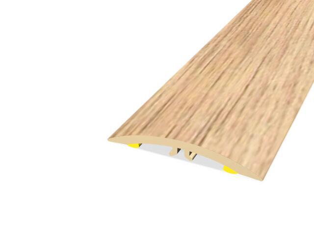 Listwa dylatacyjna 42mm PVC dąb G3 dł. 1m M-M0200-G3-100 Montic