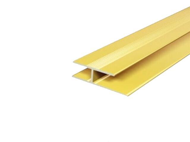 Listwa dylatacyjna 29x8 ALU złoto 03 dł. 0,9m E-E1200-03-090 Borck