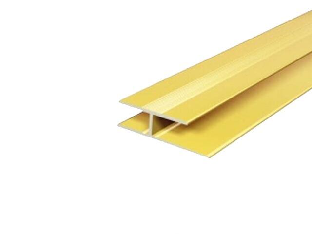Listwa dylatacyjna 29x8 ALU złoto 03 dł. 1,8m E-E1200-03-180 Borck