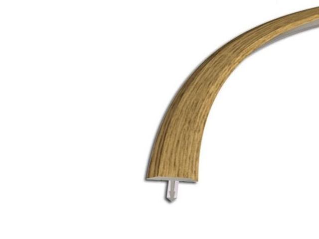 Listwa dylatacyjna 18mm ALU dąb 15 dł 2,5m 6-00612-15-250 Zic Zac