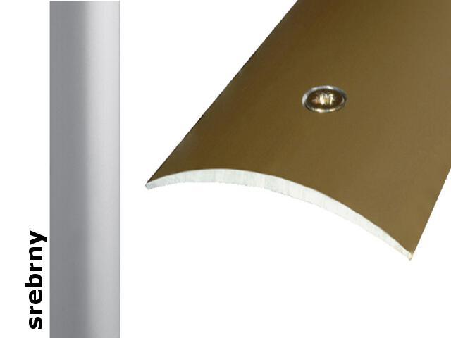 Listwa dylatacyjna Effect Standard A04 srebro 360cm Effector