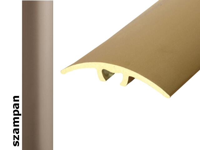Listwa dylatacyjna Effect Standard A66 z uszczelką silikonową szampan 120cm Effector