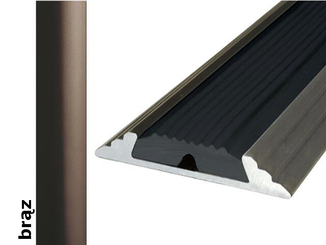 Listwa dylatacyjna Effect Standard A10 z wkładką antypoślizgową brąz 120cm Effector