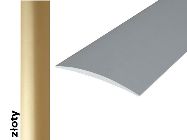 Listwa dylatacyjna Effect Standard A70 samoprzylepna złoto 200cm Effector