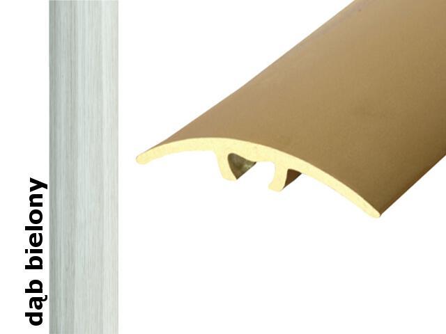 Listwa dylatacyjna Effect Standard A66 z uszczelką silikonową dąb bielony 270cm Effector
