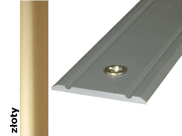 Listwa dylatacyjna Effect Standard A02 złoto 180cm Effector