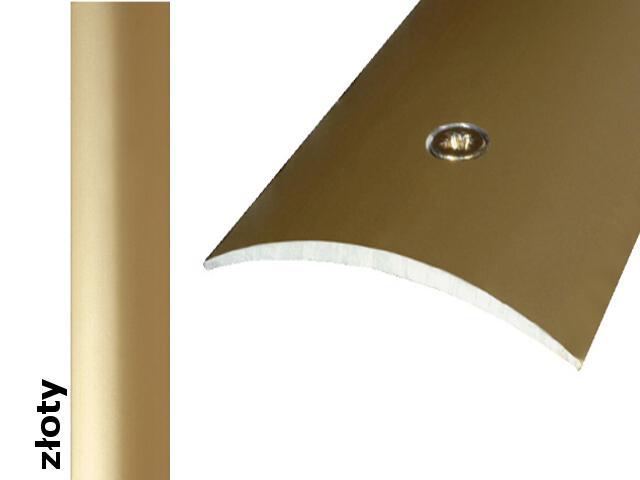 Listwa dylatacyjna Effect Standard A04 złoto 270cm Effector
