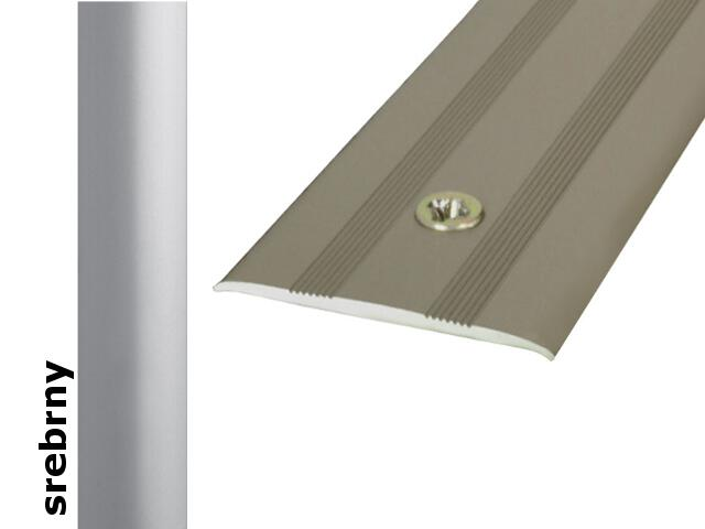 Listwa dylatacyjna Effect Standard A08 srebro 93cm Effector