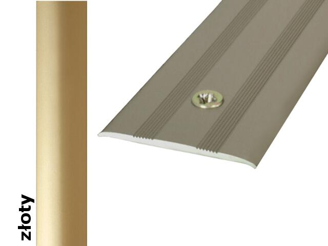 Listwa dylatacyjna Effect Standard A08 złoto 270cm Effector