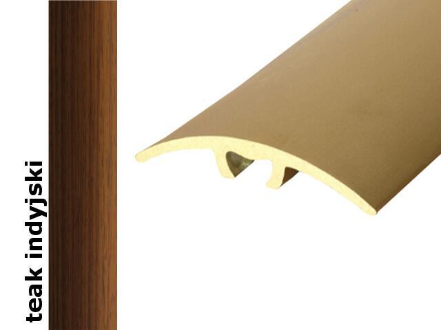 Listwa dylatacyjna Effect Standard A66 z uszczelką silikonową teak indyjski 180cm Effector
