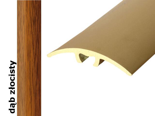Listwa dylatacyjna Effect Standard A66 z uszczelką silikonową dąb złocisty 270cm Effector