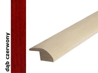 Listwa wyrównująca surowa dąb czerwony 1000 mm Barlinek