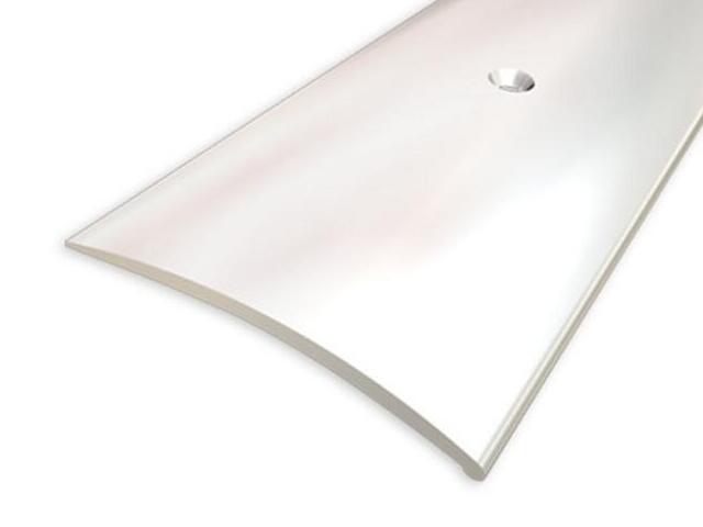 Listwa wyrównująca 49mm ALU srebro 01 dł. 0,9m 1-07697-01-090 Aspro