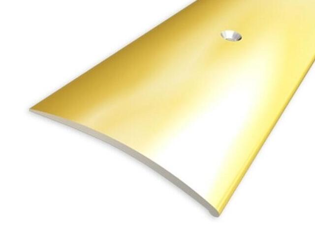 Listwa wyrównująca 49mm ALU złoto 03 dł. 0,9m 1-07697-03-090 Aspro