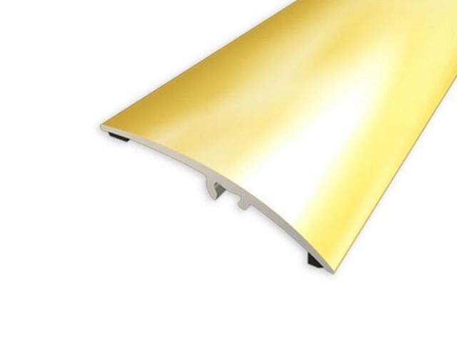 Listwa wyrównująca 42mm ALU złoto 03 dł. 1,8m 1-00200-03-180 Aspro