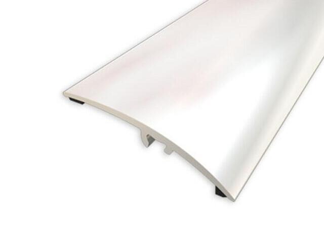 Listwa wyrównująca 42mm ALU srebro 01 dł. 2,7m 1-00200-01-270 Aspro