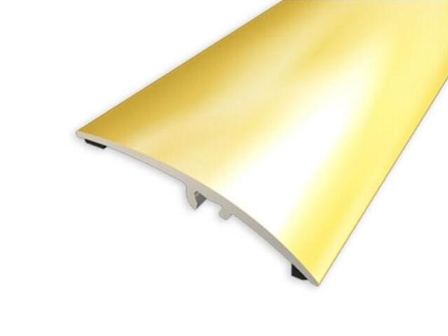 Listwa wyrównująca 42mm ALU złoto 03 dł. 2,7m 1-00200-03-270 Aspro