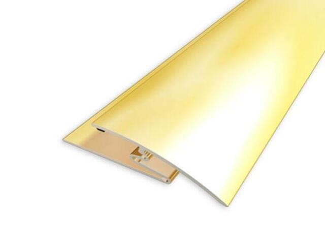 Listwa wyrównująca 30mm ALU złoto 03 dł. 0,93m 1-00300-03-093 Aspro