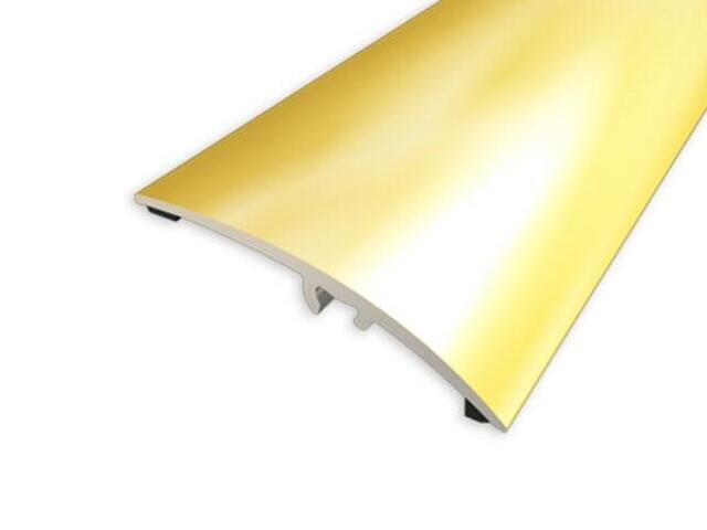 Listwa wyrównująca 50mm ALU złoto 03 dł. 0,93m 1-00212-03-093 Aspro