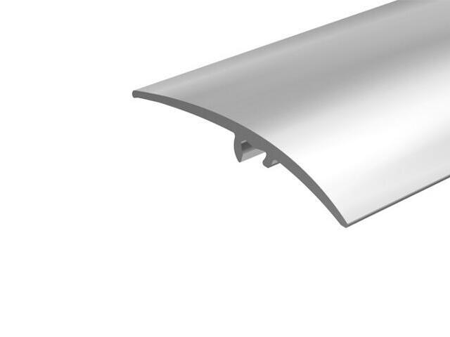 Listwa wyrównująca 50mm ALU srebro 01 dł. 0,93m E-E0300-01-093 Borck