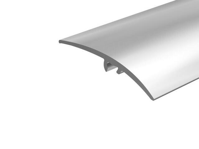 Listwa wyrównująca 50mm ALU srebro 01 dł. 1,8m E-E0300-01-180 Borck