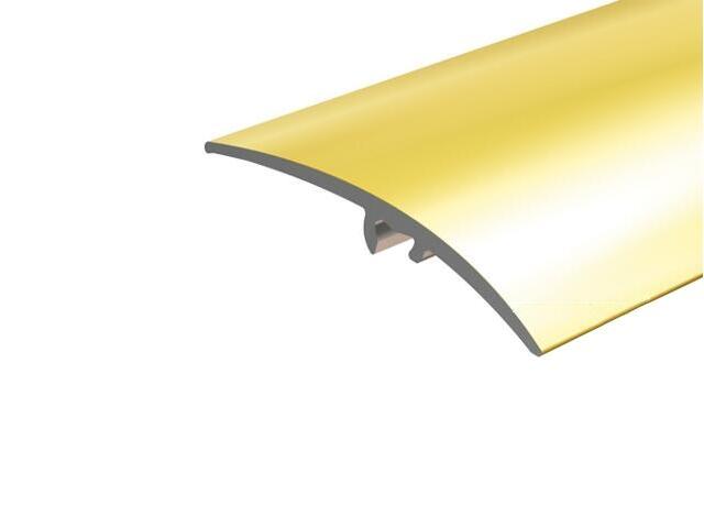 Listwa wyrównująca 50mm ALU złoto 03 dł. 1,8m E-E0300-03-180 Borck
