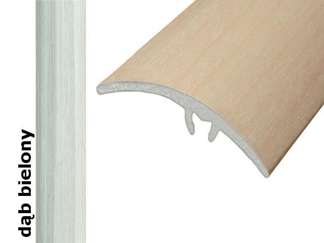 Listwa wyrównująca Effect Standard A65 z uszczelką silikonową dąb bielony 120cm Effector
