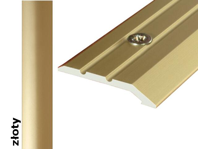 Listwa wyrównująca Effect Standard A01 złoto 90cm Effector