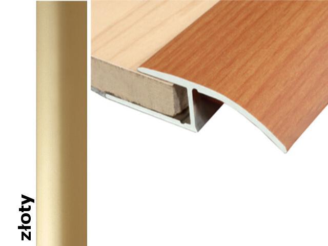 Listwa wyrównująca Effect Standard A62 złoto 270cm Effector