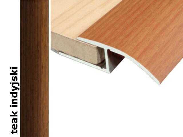 Listwa wyrównująca Effect Standard A62 teak indyjski 180cm Effector