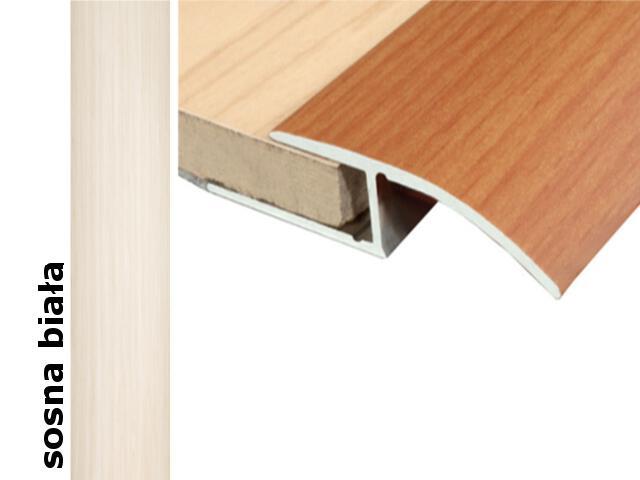 Listwa wyrównująca Effect Standard A62 sosna biała 90cm Effector