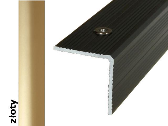 Listwa schodowa Effect Standard A40 złoto 180cm Effector