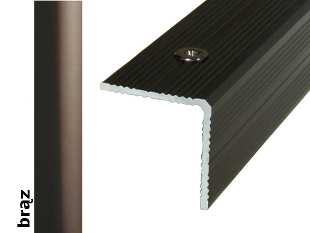 Listwa schodowa Effect Standard A40 brąz 180cm Effector