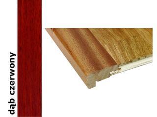 Listwa schodowa niska lakierowana 2000 mm dąb czerwony Barlinek