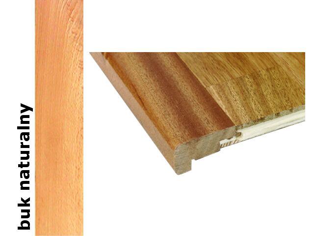 Listwa schodowa niska lakierowana 2000 mm buk naturalny Barlinek