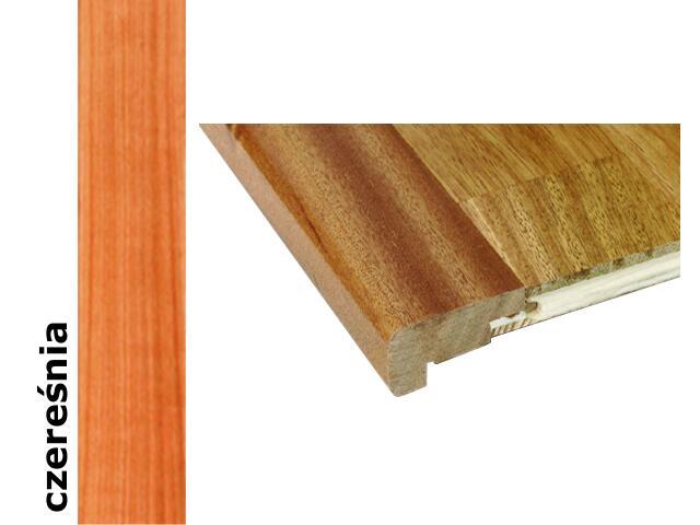 Listwa schodowa niska lakierowana 2000 mm czereśnia naturalna Barlinek