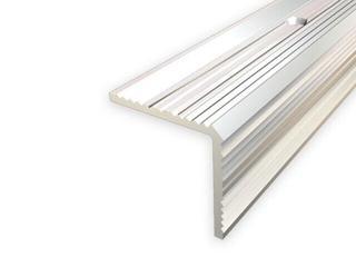 Listwa schodowa 35x35 ALU srebro 01 dł. 0,9m 1-07669-01-090 Aspro