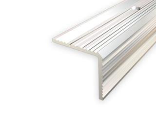 Listwa schodowa 20x20 ALU srebro 01 dł. 1,8m 1-07696-01-180 Aspro