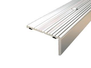 Listwa schodowa 40x20 ALU srebro 01 dł. 1,8m 1-06437-01-180 Aspro